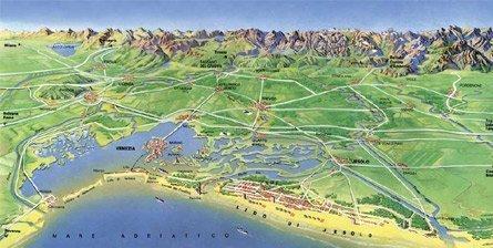 Схема побережья – увеличить изображение