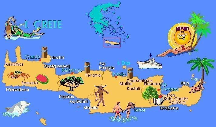 греция фото достопримечательности крит